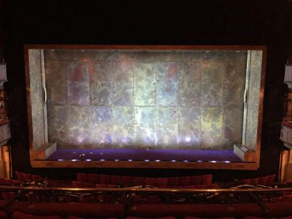 Cort Theatre, section: Mezzanine Center, row: D, seat: 107