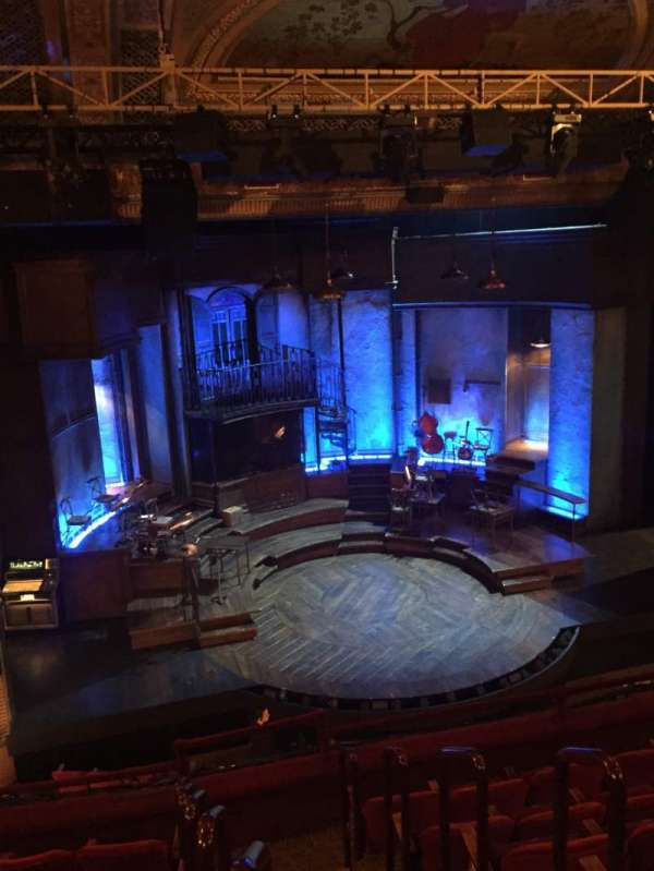 Walter Kerr Theatre, section: Mezzanine L, row: G, seat: 1