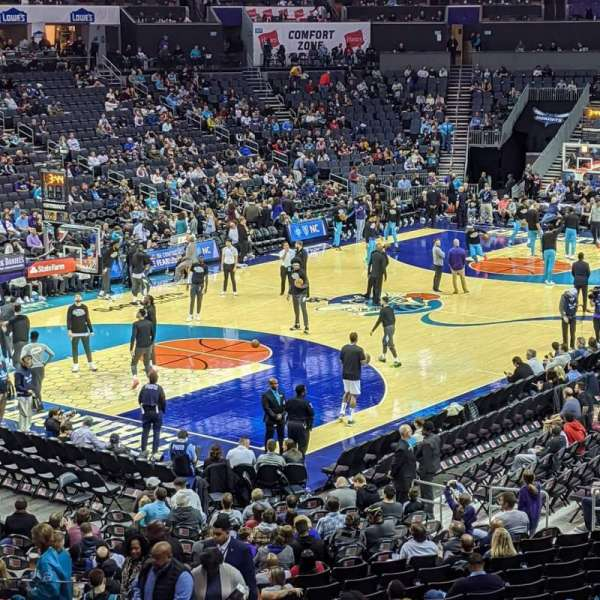 Spectrum Center, section: 116, row: X, seat: 30