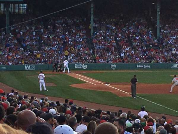 Fenway Park, section: Right Field Box 93, row: NN, seat: 36