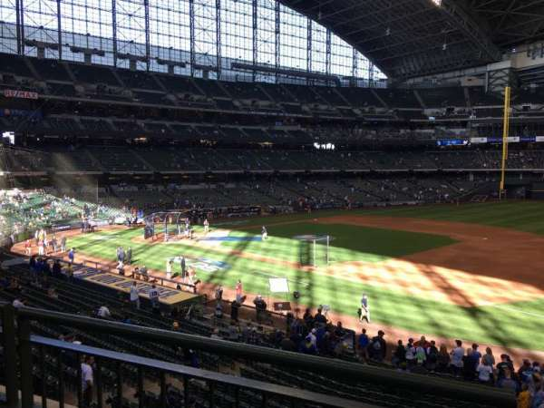 Miller Park, section: 211, row: 2, seat: 23