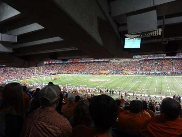 Alamodome, section: 131, row: 35, seat: 19