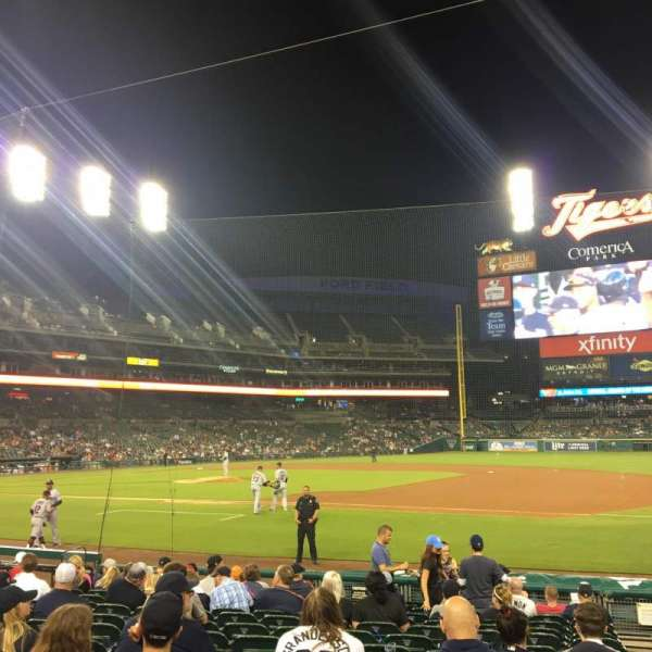 Comerica Park, section: 119, row: 15, seat: 3