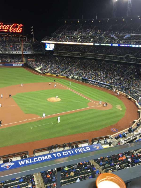 Citi Field, section: 421, row: 1, seat: 5
