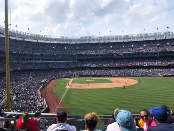 Yankee Stadium, section: 206, row: 7, seat: 15