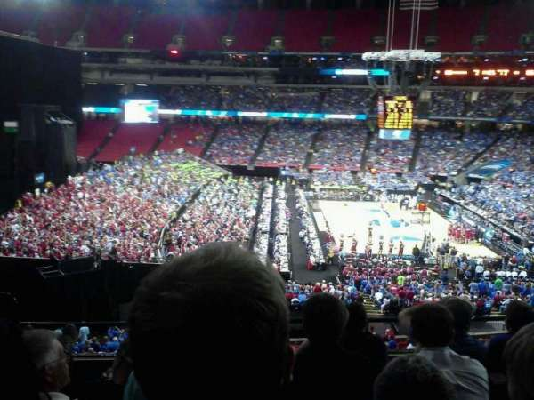 Georgia Dome, section: 245, row: 5, seat: 4