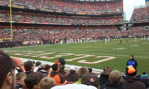FirstEnergy Stadium, section: 101, row: 4, seat: 21