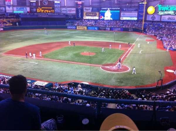 Tropicana Field, section: 205, row: C, seat: 9