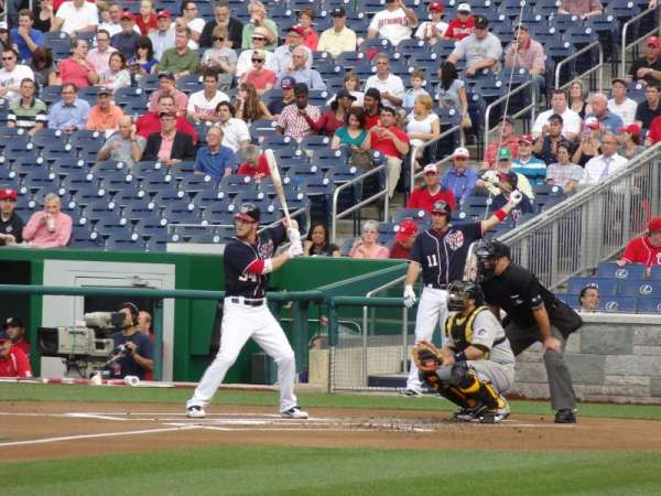 Nationals Park, section: 113, row: J, seat: 15