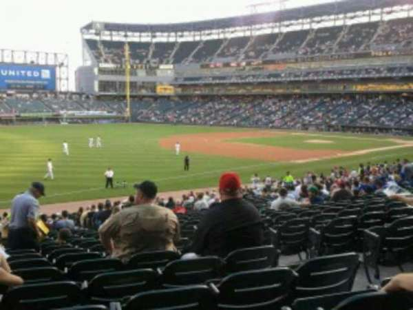 Guaranteed Rate Field, section: 149, row:  29, seat: 4