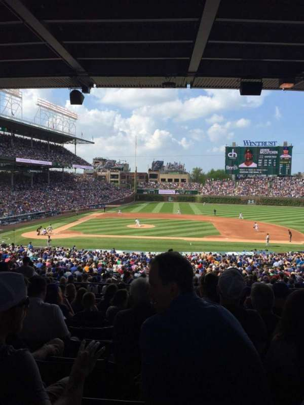 Wrigley Field, section: 228, row: 12, seat: 9