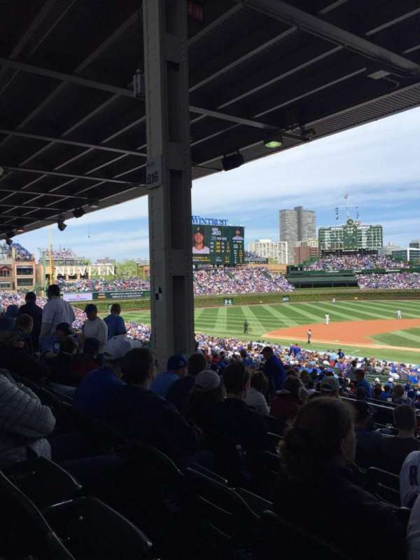 Wrigley Field, section: 218, row: 10, seat: 106