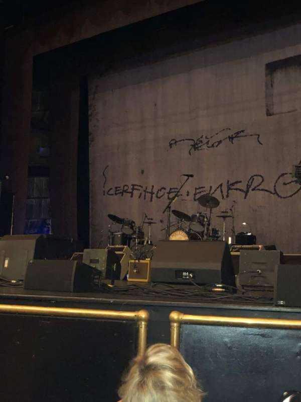 John Mellencamp, section: Orchestra, row: 4, seat: 14