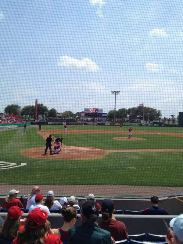 Space Coast Stadium, section: 112, row: 6, seat: 4