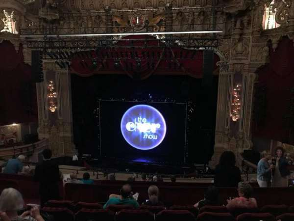 Oriental Theatre, section: Balcony rc, row: K, seat: 330
