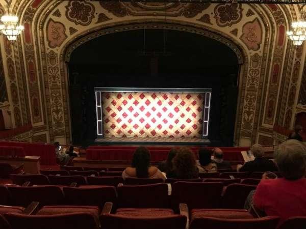 Cadillac Palace Theater, section: Balcony C, row: K, seat: 313