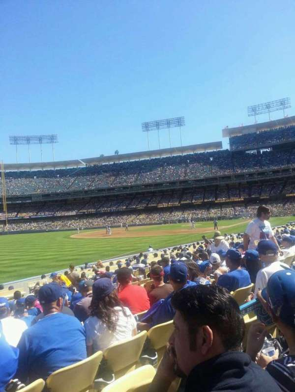 Dodger Stadium, section: 45FD, row: M, seat: 11