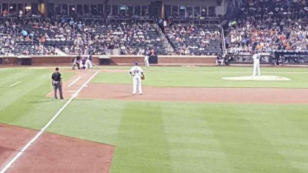 Citi Field, section: 103, row: 4, seat: 10