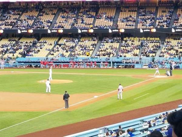 Dodger Stadium, section: 157LG, row: G, seat: 17