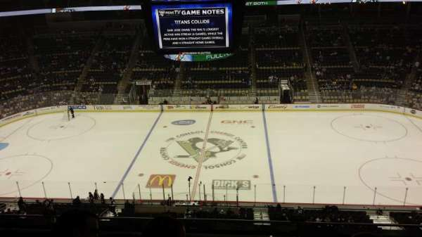 PPG Paints Arena, section: 219, row: D, seat: 6