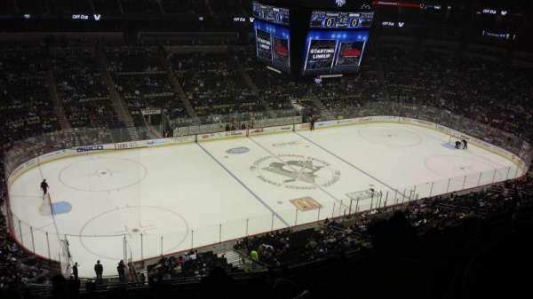 PPG Paints Arena, section: 222, row: H, seat: 19
