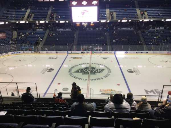 Citizens Business Bank Arena, section: 216, row: I, seat: 8