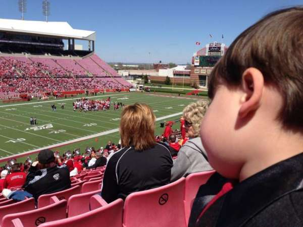 Cardinal Stadium, section: 212, row: Q, seat: 23