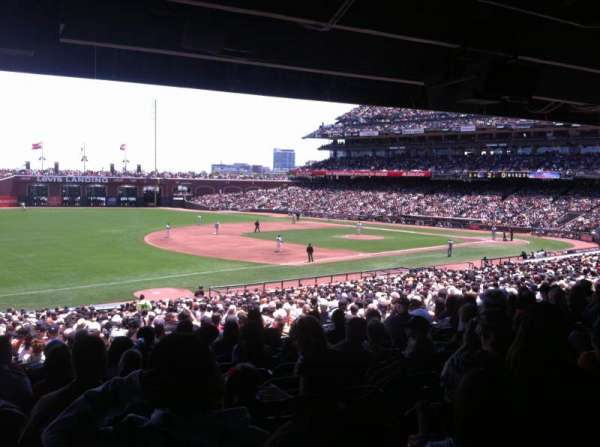 AT&T Park, section: 128, row: 38, seat: 9