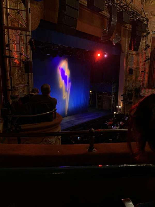 Longacre Theatre, section: Mezzanine L, row: B, seat: 28
