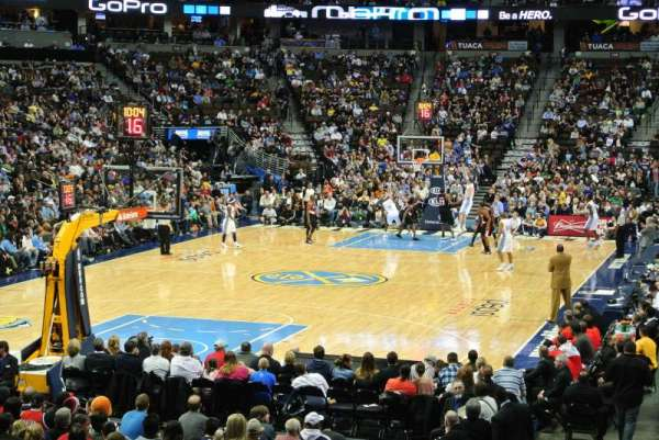 Pepsi Center, section: 110, row: 15, seat: 4
