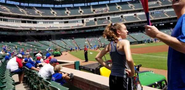 Globe Life Park in Arlington, section: 37, row: 2, seat: 17