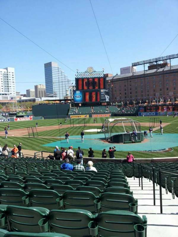 Oriole Park at Camden Yards, section: 42, row: 22, seat: 1