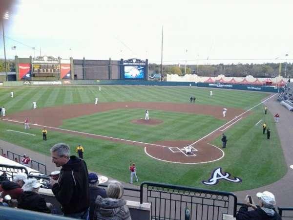 Champion Stadium, section: 216, row: F, seat: 3