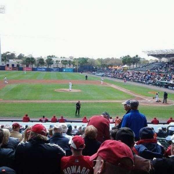 Ed Smith Stadium, section: 217, row: 11, seat: 3