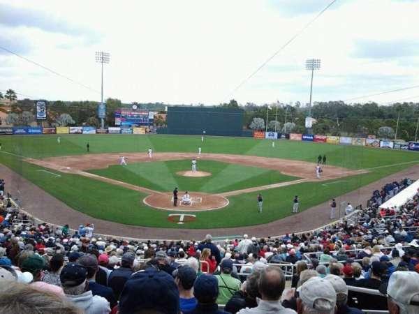 Hammond Stadium, section: 209, row: 13, seat: 2