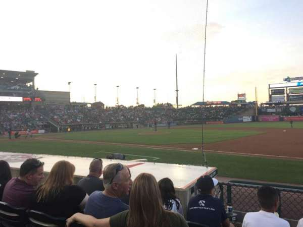 Coca-Cola Park, section: 106, row: H, seat: 18