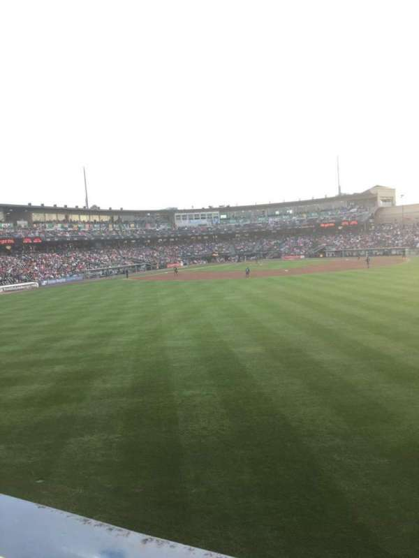 Coca-Cola Park, section: Bacon Strip, row: A, seat: 75