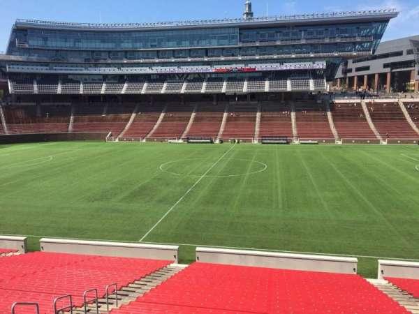 Nippert Stadium, section: 105, row: 32, seat: 11