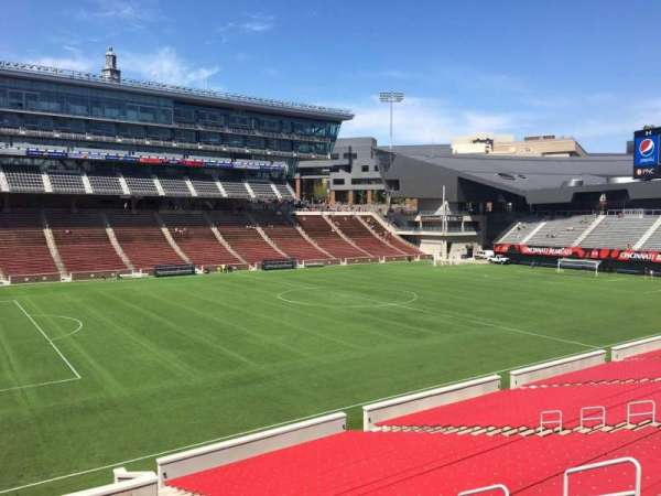 Nippert Stadium, section: 110, row: 32, seat: 11