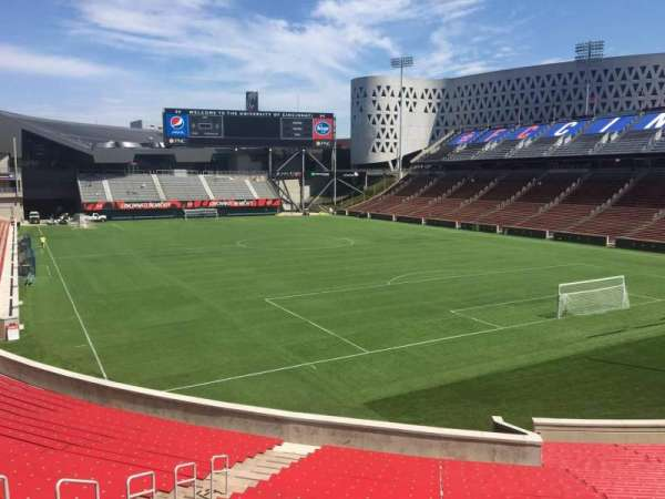 Nippert Stadium, section: 116, row: 35, seat: 35