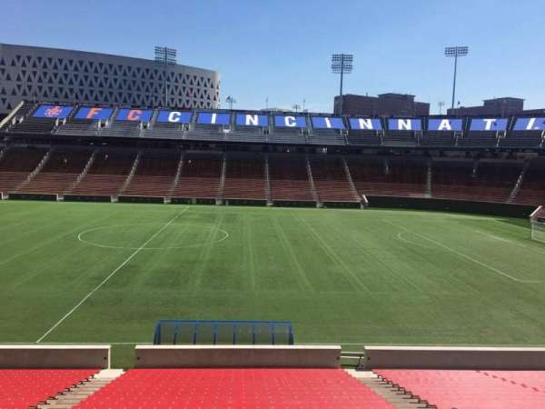 Nippert Stadium, section: 121, row: 32, seat: 11