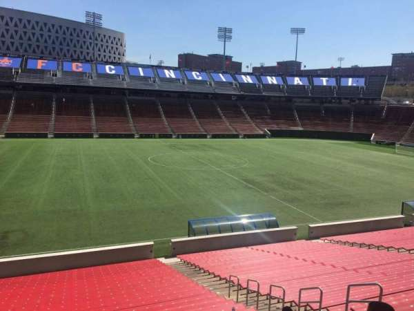 Nippert Stadium, section: 124, row: 32, seat: 11