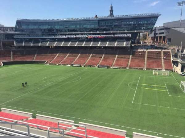Nippert Stadium, section: 202, row: 6, seat: 20
