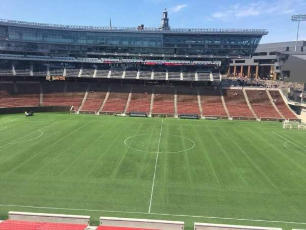 Nippert Stadium, section: 206, row: 8, seat: 1
