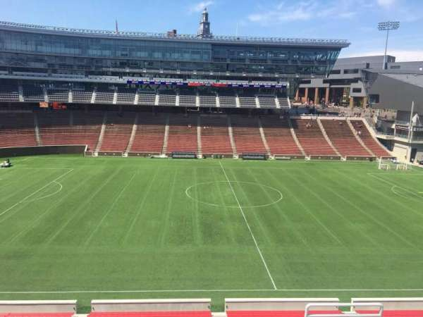 Nippert Stadium, section: 207, row: 8, seat: 1