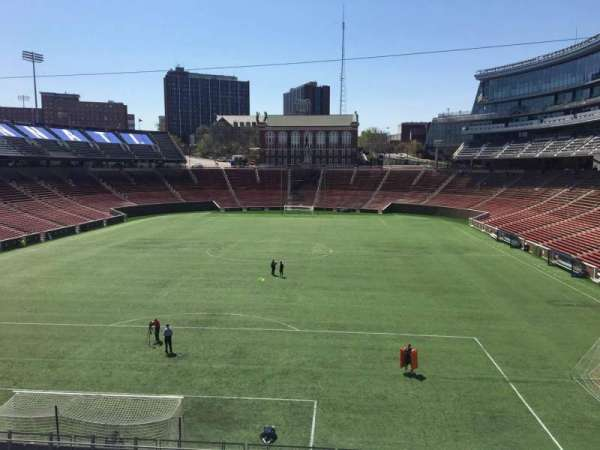 Nippert Stadium, section: 132, row: 20, seat: 17