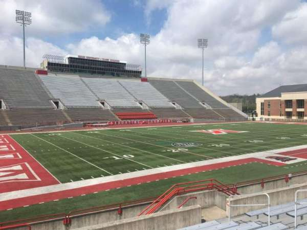 Yager Stadium, section: N, row: 10, seat: 12