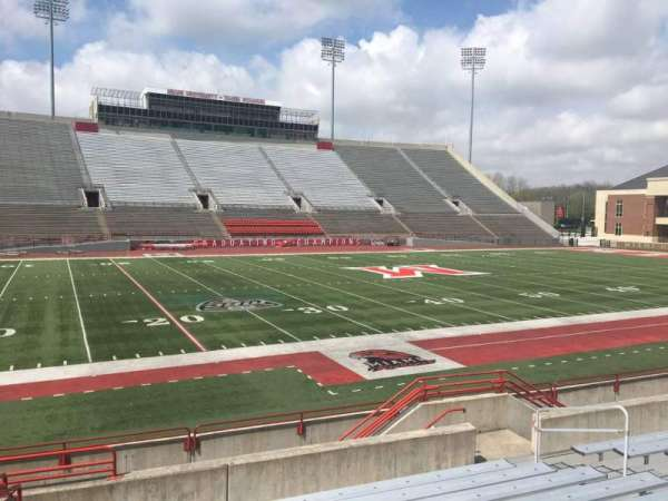 Yager Stadium, section: L, row: 10, seat: 12