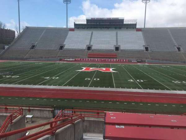 Yager Stadium, section: G, row: 10, seat: 12