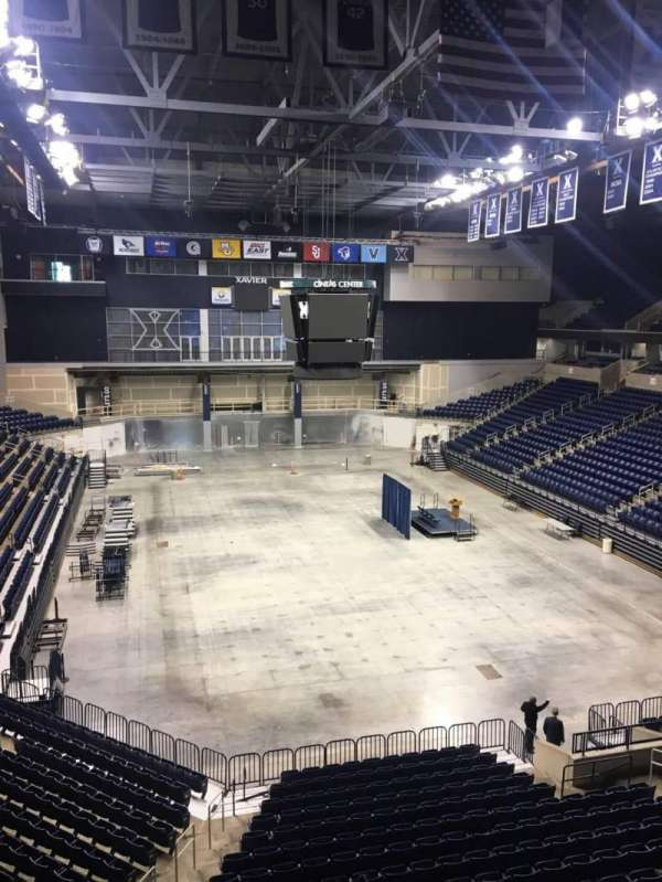 Cintas Center, section: 201, row: B, seat: 6